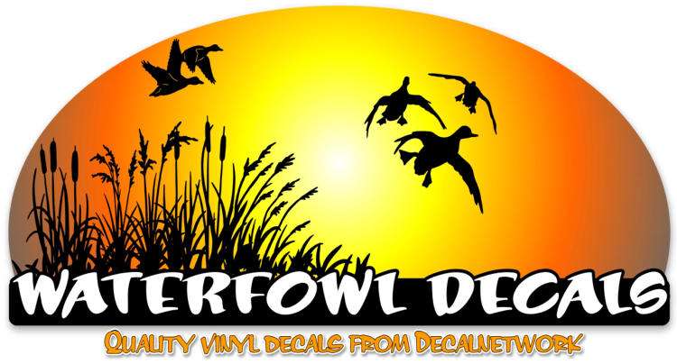 Waterfowl Hunting Decals Duck Goose Geese Calls