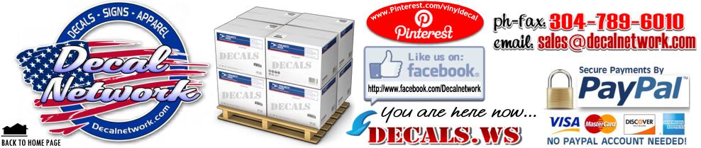 Wholesale Vinyl Decals Bulk Closeout - Custom vinyl decals bulk