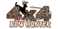 4x4 bow hunter arrow antler camo